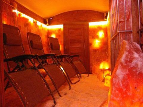 Solná jeskyně v pensionu, pensionat, hotel, zakvaterovanie