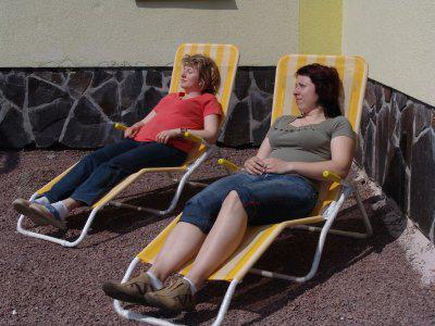 letní relaxace a opalování u pensionu